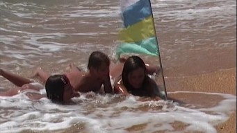Naked in the Azov Sea Part 3